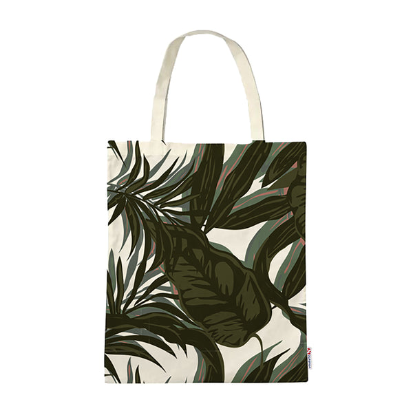 Superga Fantasy Tote Bag <br> Grey Urban Plants