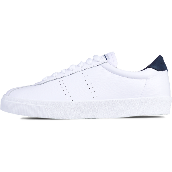 Superga 2843 Club S Leather <br> White-Navy