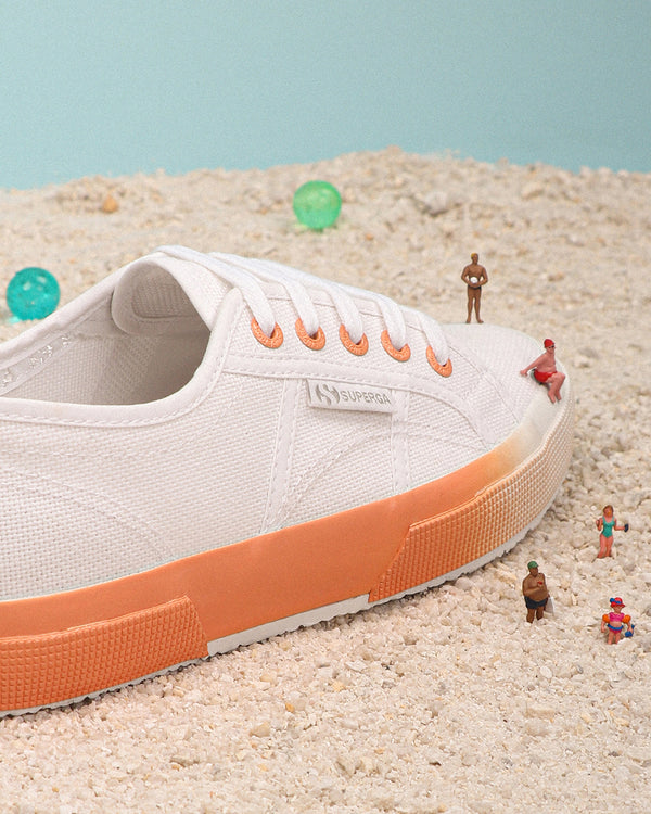 Superga 2750 Gradient <br> White Orange Melon