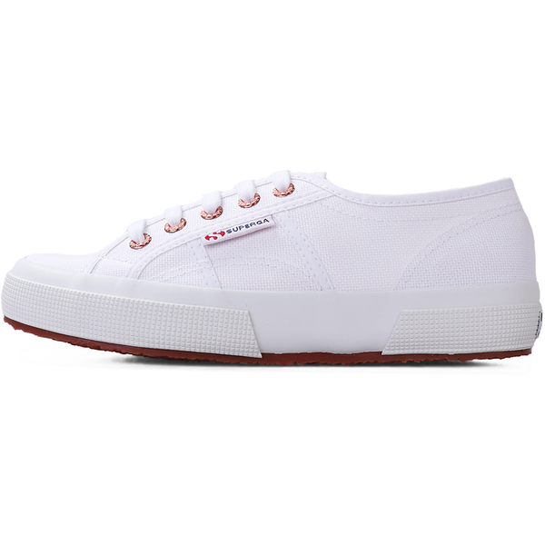 Superga 2750 <br> White-Rose Gold