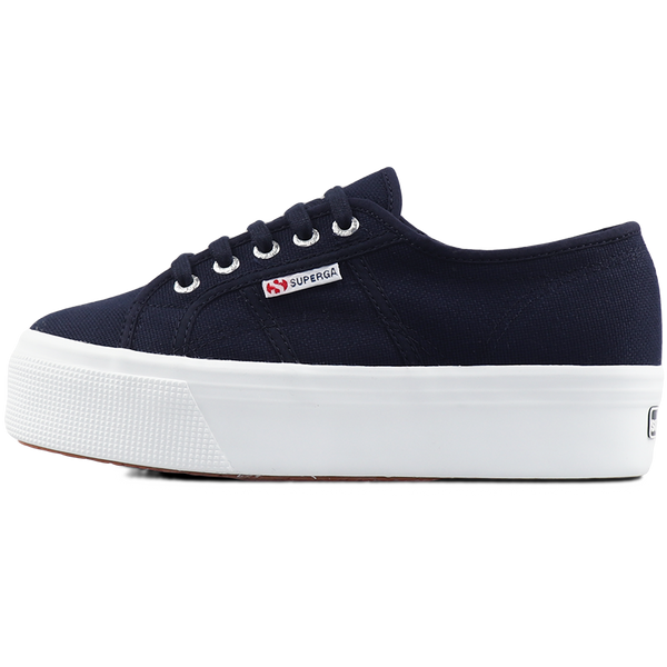 Superga 2790 Flatform <br> Navy-Full White
