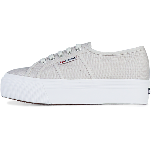 Superga 2790 Flatform <br> Grey Seashell
