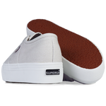 Superga Flatform <br> Grey Seashell