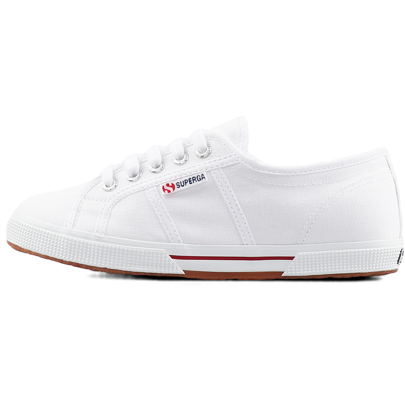 Superga 2950 <br> White-Red Flame