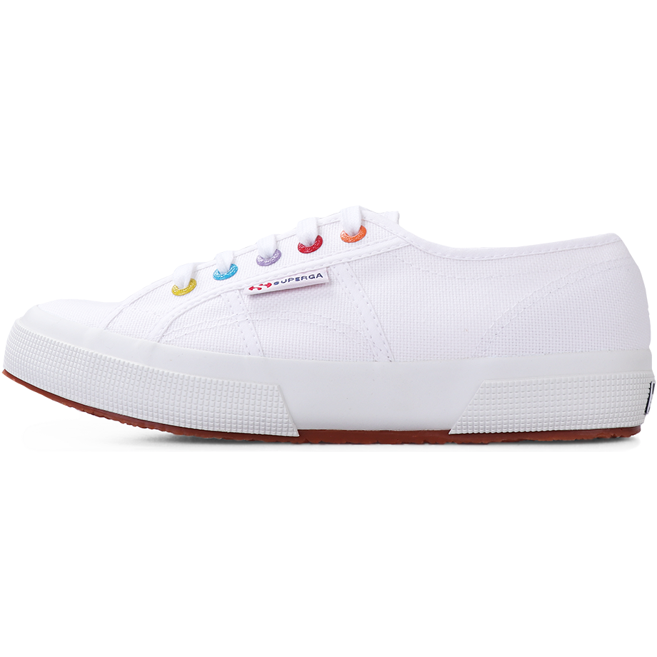 Superga 2750 <br> White-Coloured Rivets