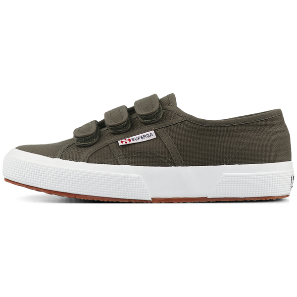 Superga Strap <br> Brown Military