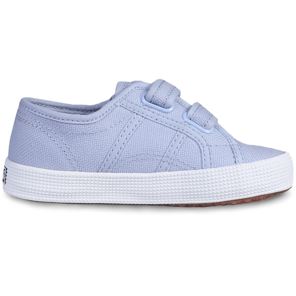 Superga Junior Strap <br> Azure Erica