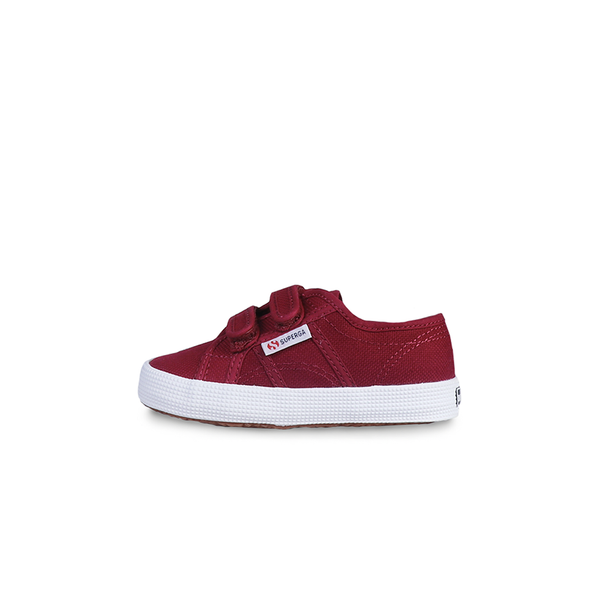 Superga Junior Strap <br> Dark Bordeaux