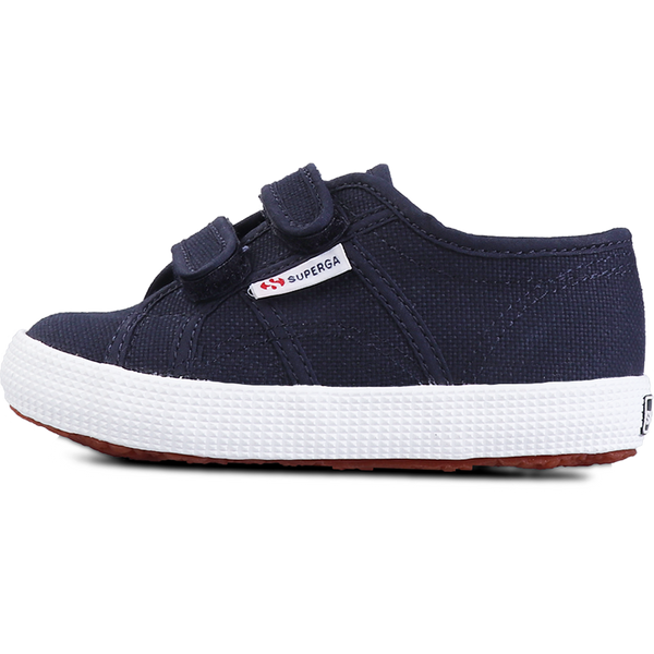 Superga Junior Strap <br> Navy-Full White