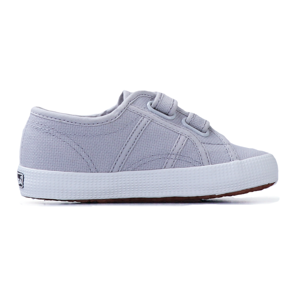 Superga Junior Strap <br> Grey Ash