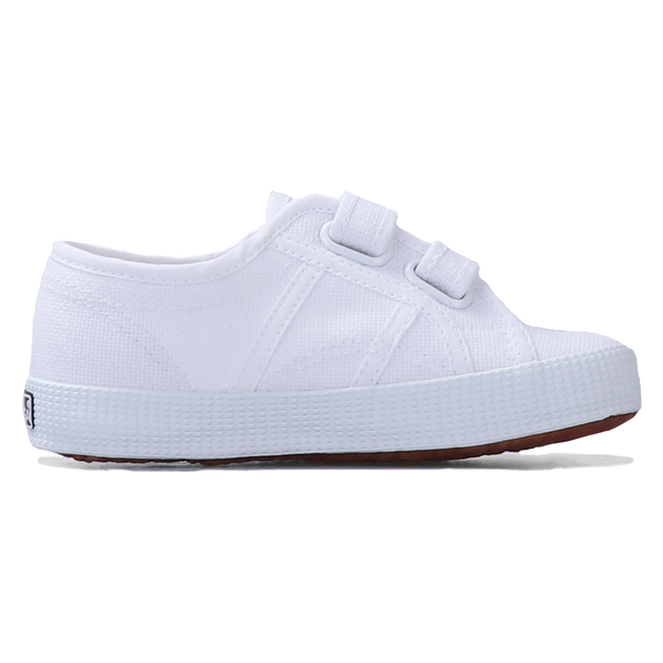 Superga Junior Strap <br> White