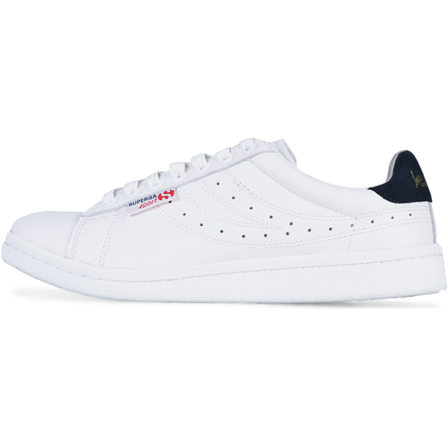Superga 4832 Lendl <br> White-Navy