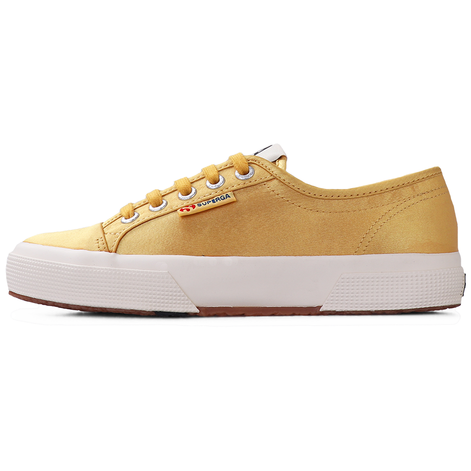Superga X Alexa Chung 2492 Satin Yellow Mustard