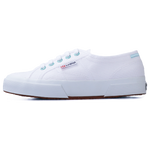 Superga 2750 Coloured Rivets <br> White-Green Water