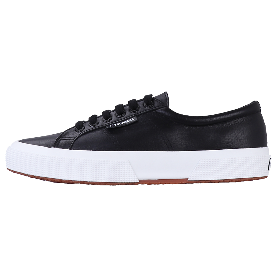 Superga 2750 Nappa Leather <br> Black