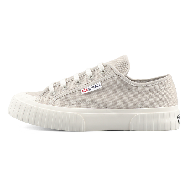 Superga 2630 Stripe <br> Grey Sand-F Avorio
