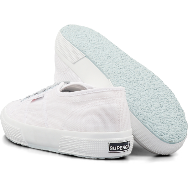 Superga 2750 Contrast <br> White-Blue Light Crystal