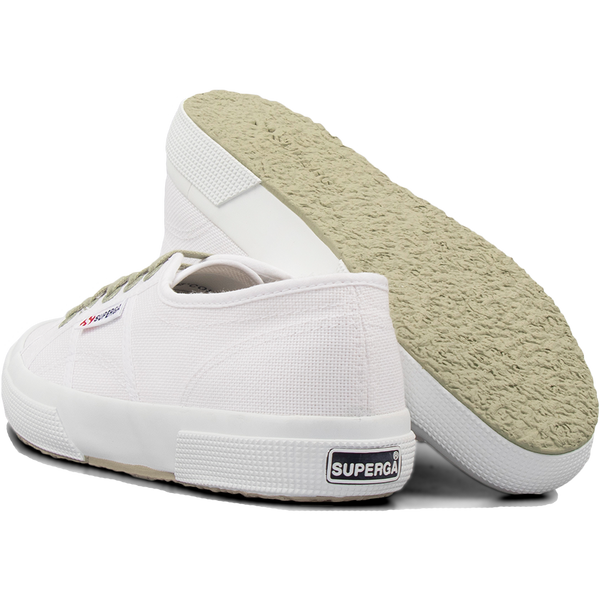 Superga 2750 Contrast <br> White-Green Sage