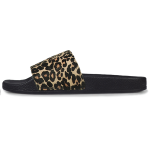 Superga Slides <br> Black-Leopard