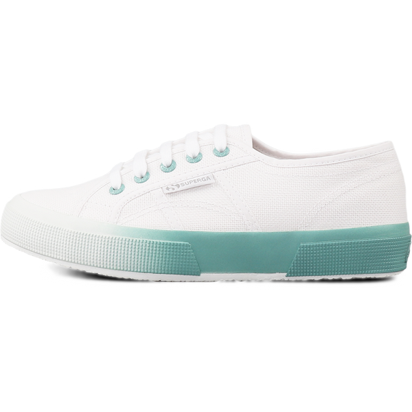 Superga 2750 Gradient <br> White Blue Light Crystal
