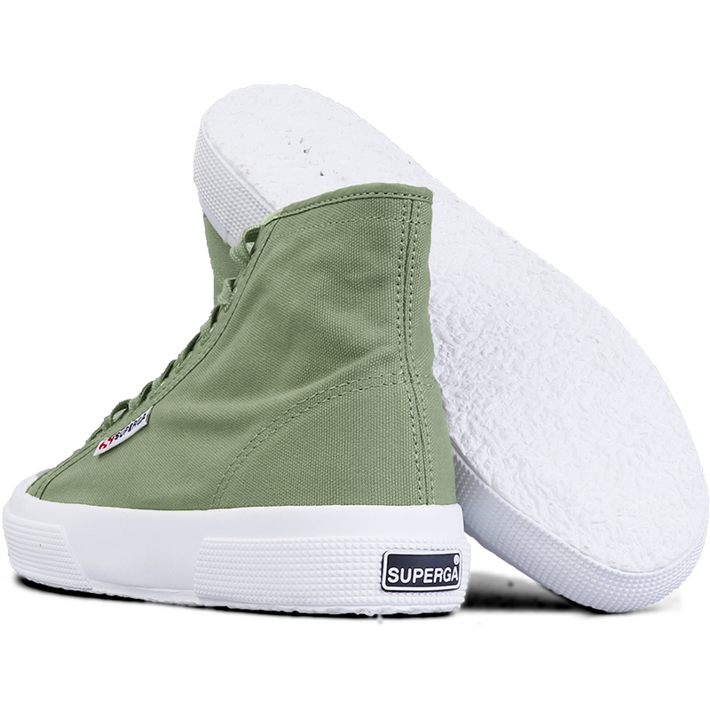Superga 2295 High <br> Green Sage