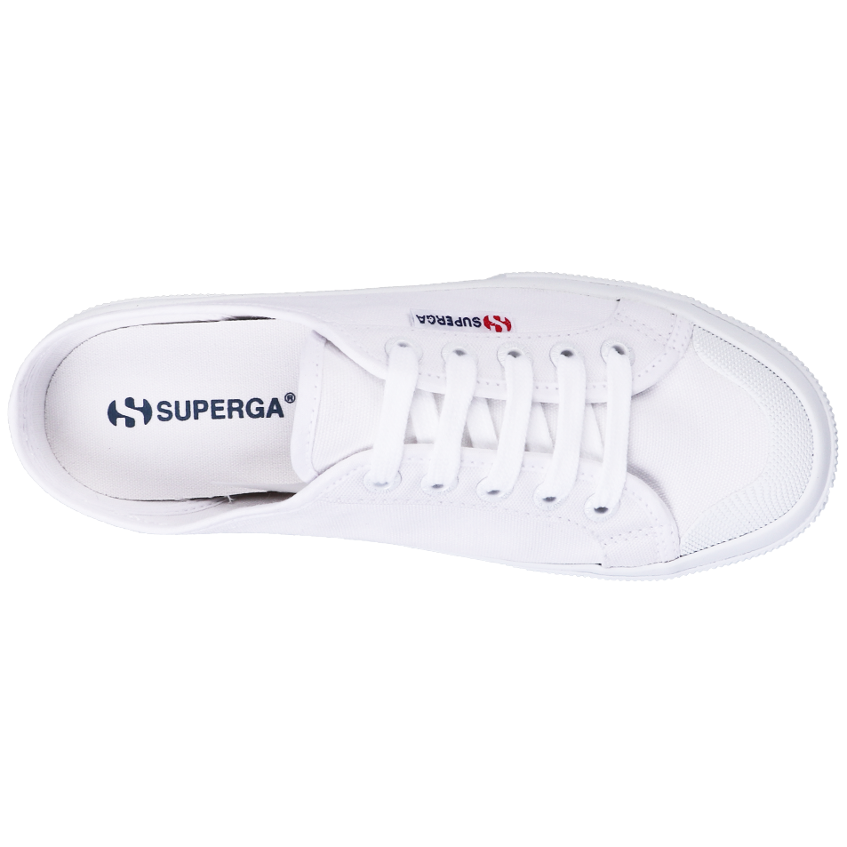 Superga 2292 Mule <br> White