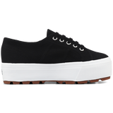 Superga 2790 Tank <br> Black Full White