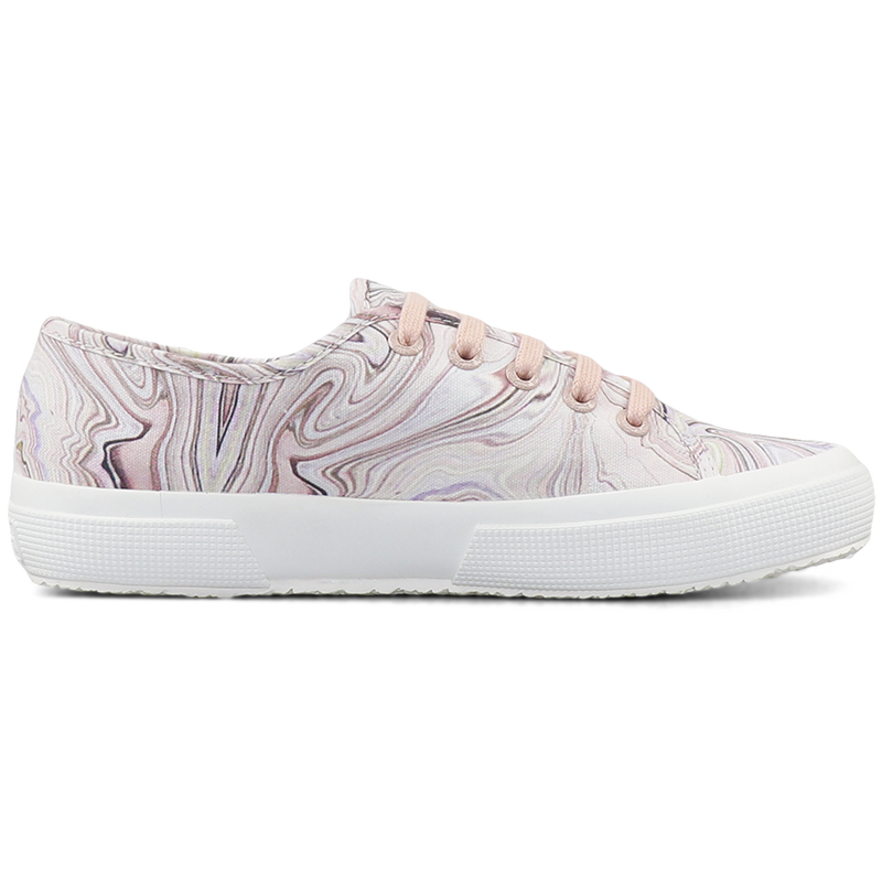 Superga 2750 Marble Print <br> Light Pink Marble