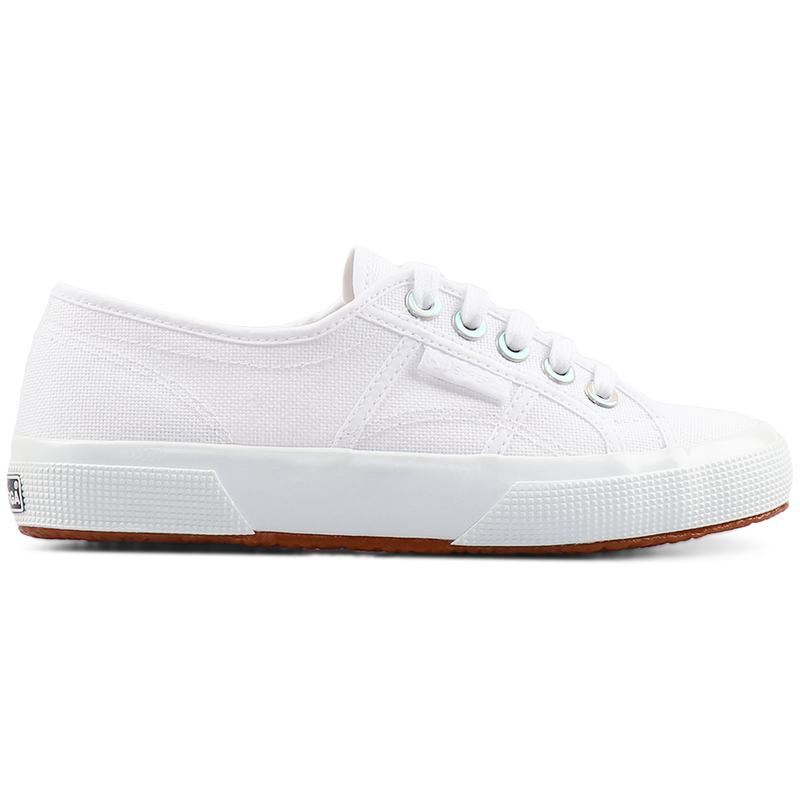 Superga 2750 Big Eyelets <br> White Iridescent