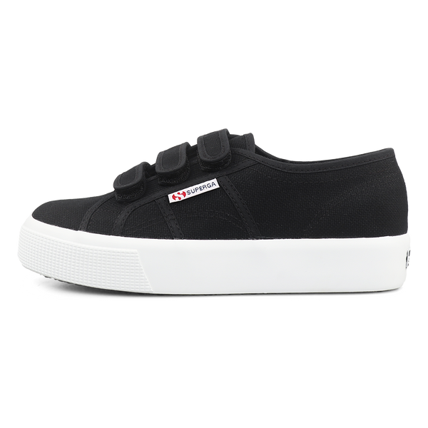 Superga 2730 Strap <br> Black Full White