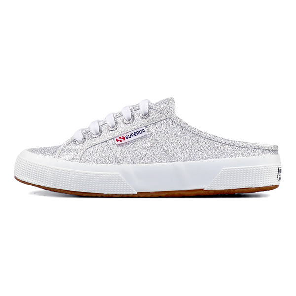 Superga 2402 Mule Lame <br> Silver