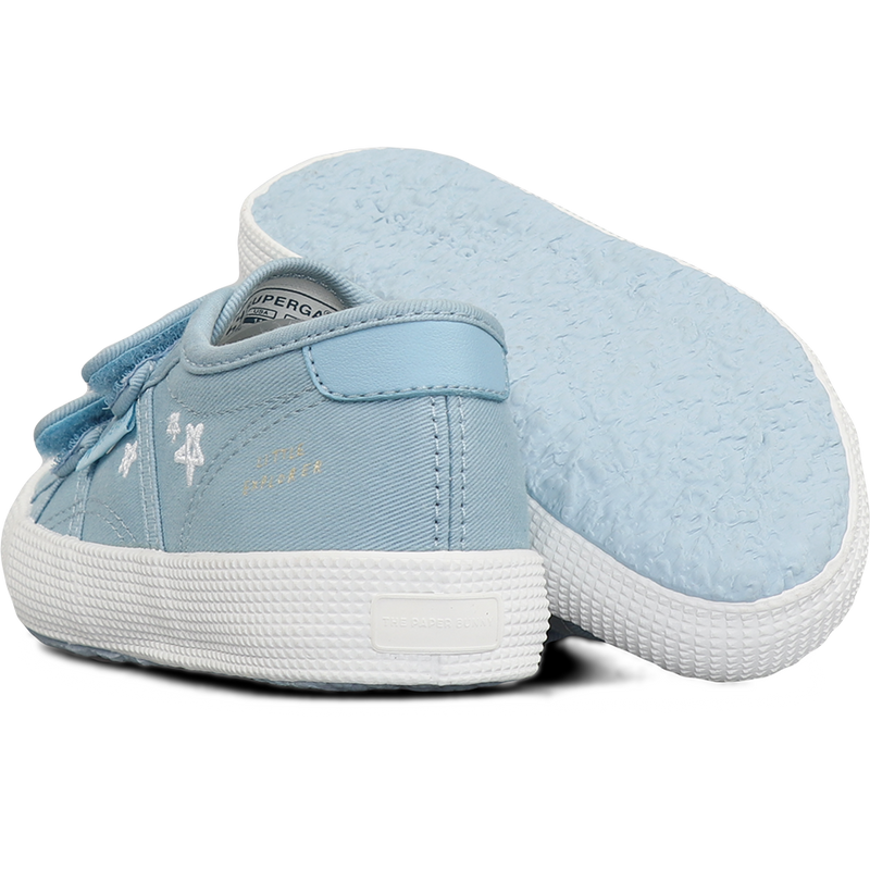 Superga X The Paper Bunny 2750 Junior Little Explorer <br> Blue Lagoon