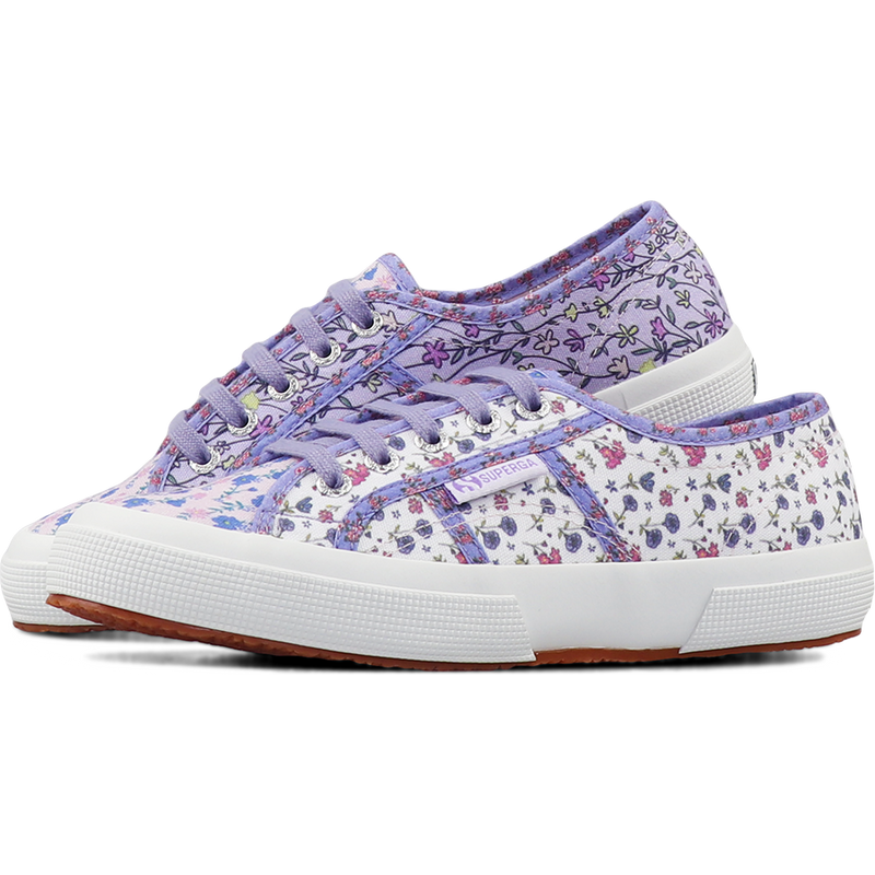 Superga 2750 Flower Patchwork <br> Pink Pale Lilac