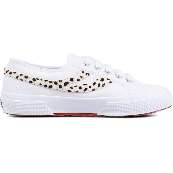 Superga 2953 Pony Hair <br> White Dalmatian