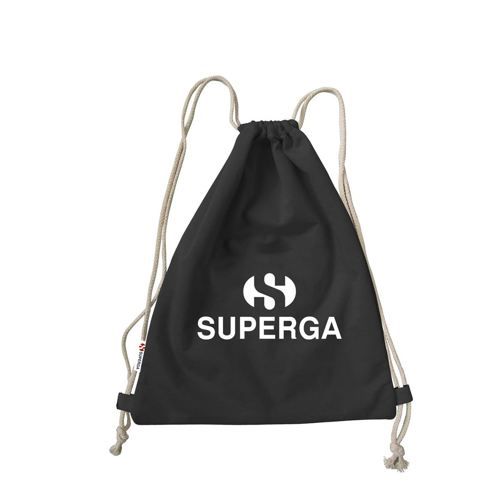 Superga Gym Backpack <br> Black