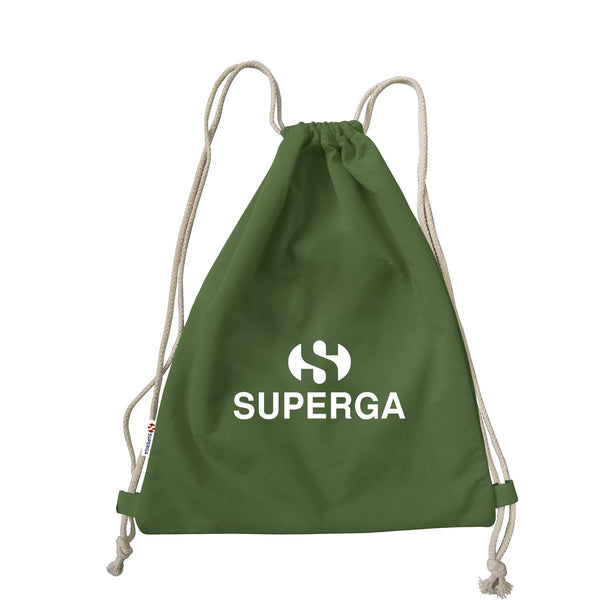 Superga Gym Backpack <br> Green Military