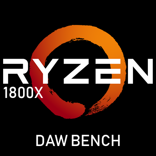 My Ryzen 1800x Build (DAW Bench Results) - Part 03