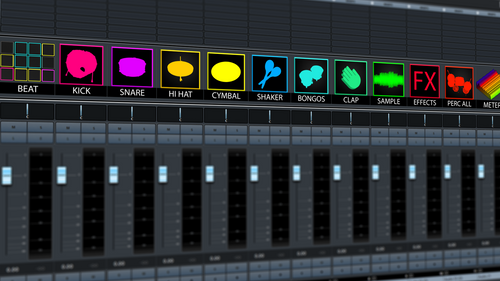 Cubase Track Icons Mix Essentials v.10