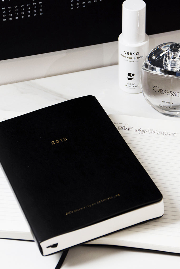 How to get organised for the new year - according to our founder