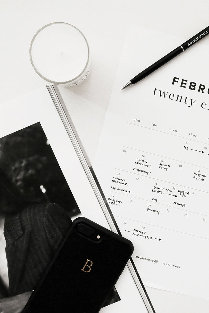 Tips + tricks for making the most of your 2018 Calendar