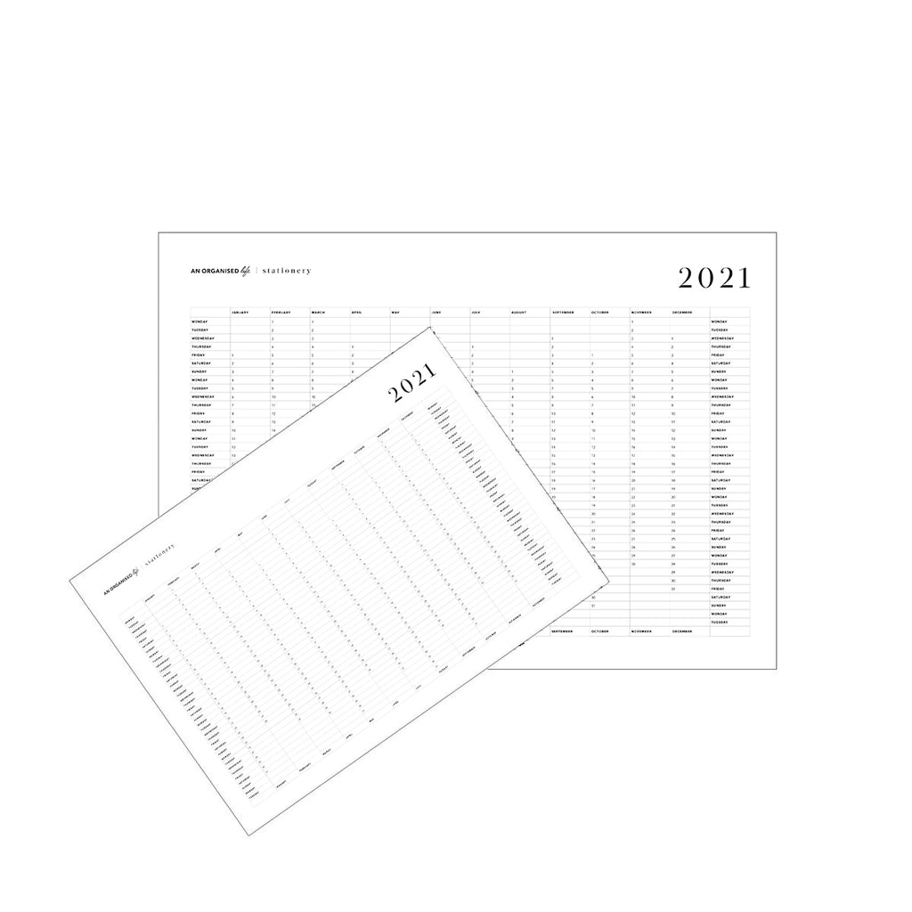 2021 Downloadable Wall Calendars