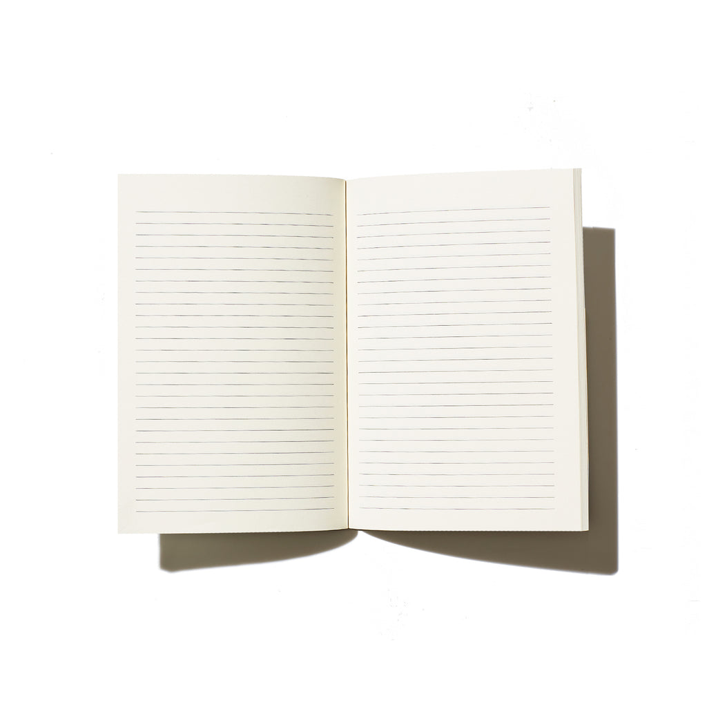 Elissa Barber x AOL Beige Lined Notebook | Pre Order