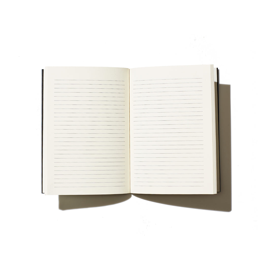 Gratitude Lined Notebook - Black