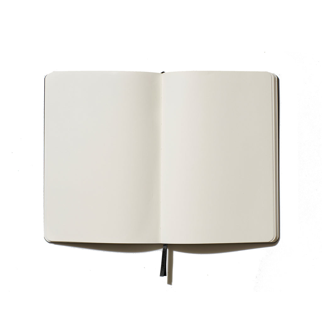 Elissa Barber x AOL Vegan Leather Blank Notebook Gold | Pre Order