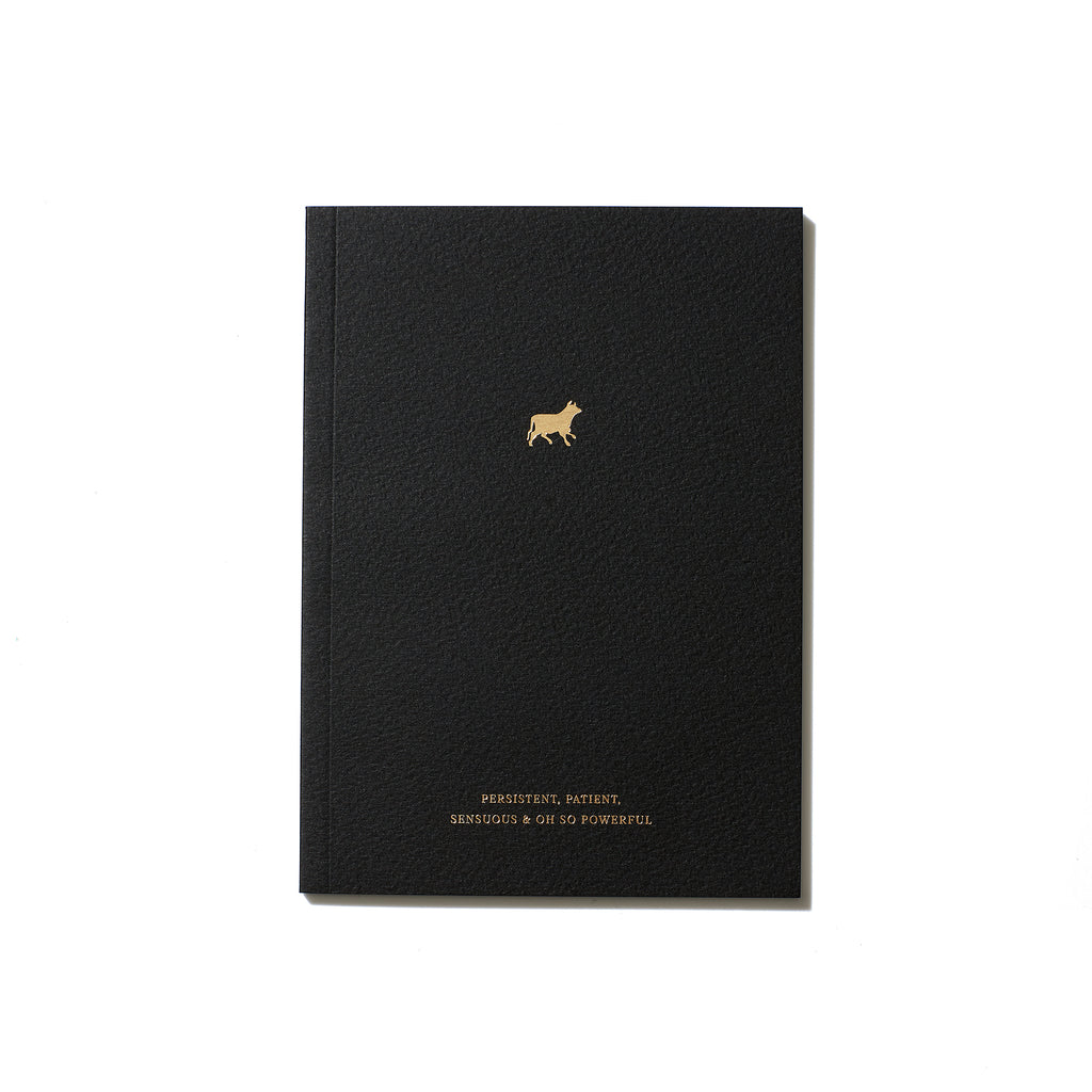 Taurus Zodiac Notebook
