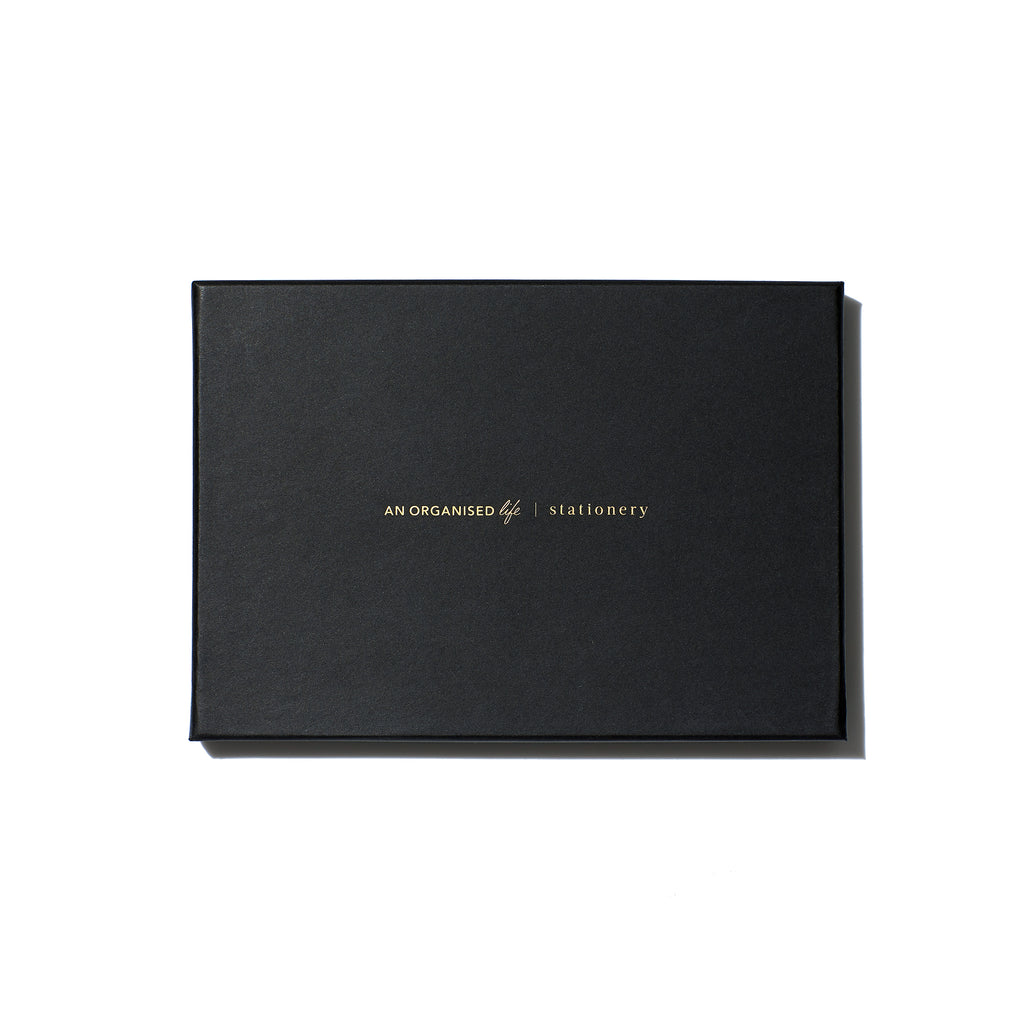 Limitless Blank Notebook - Black
