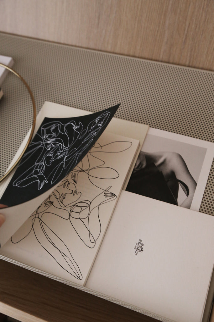 Elissa Barber x AOL Black Plain Notebook