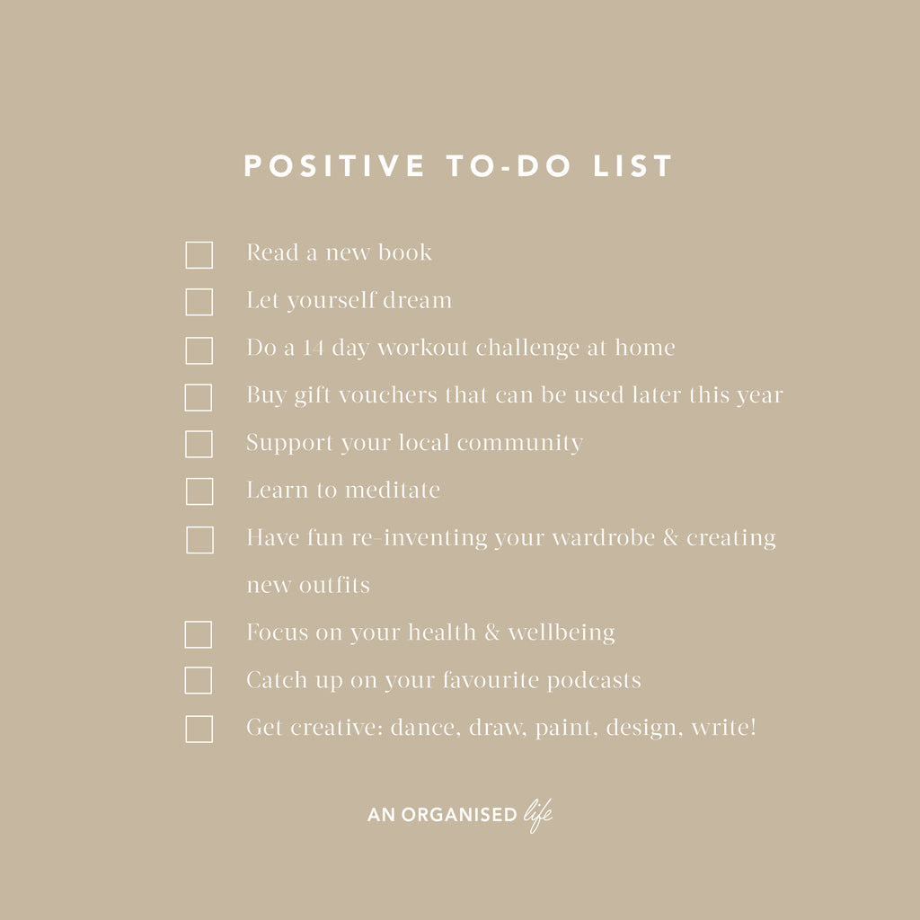 The FREE Positive To-Do List