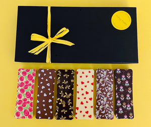Gift box with 12x40g bars