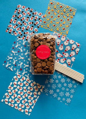 Festive DIY lolly kits (milk)